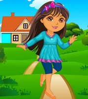 Vista a Dora para a escola