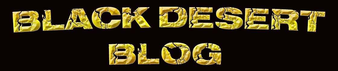 Black Desert Blog