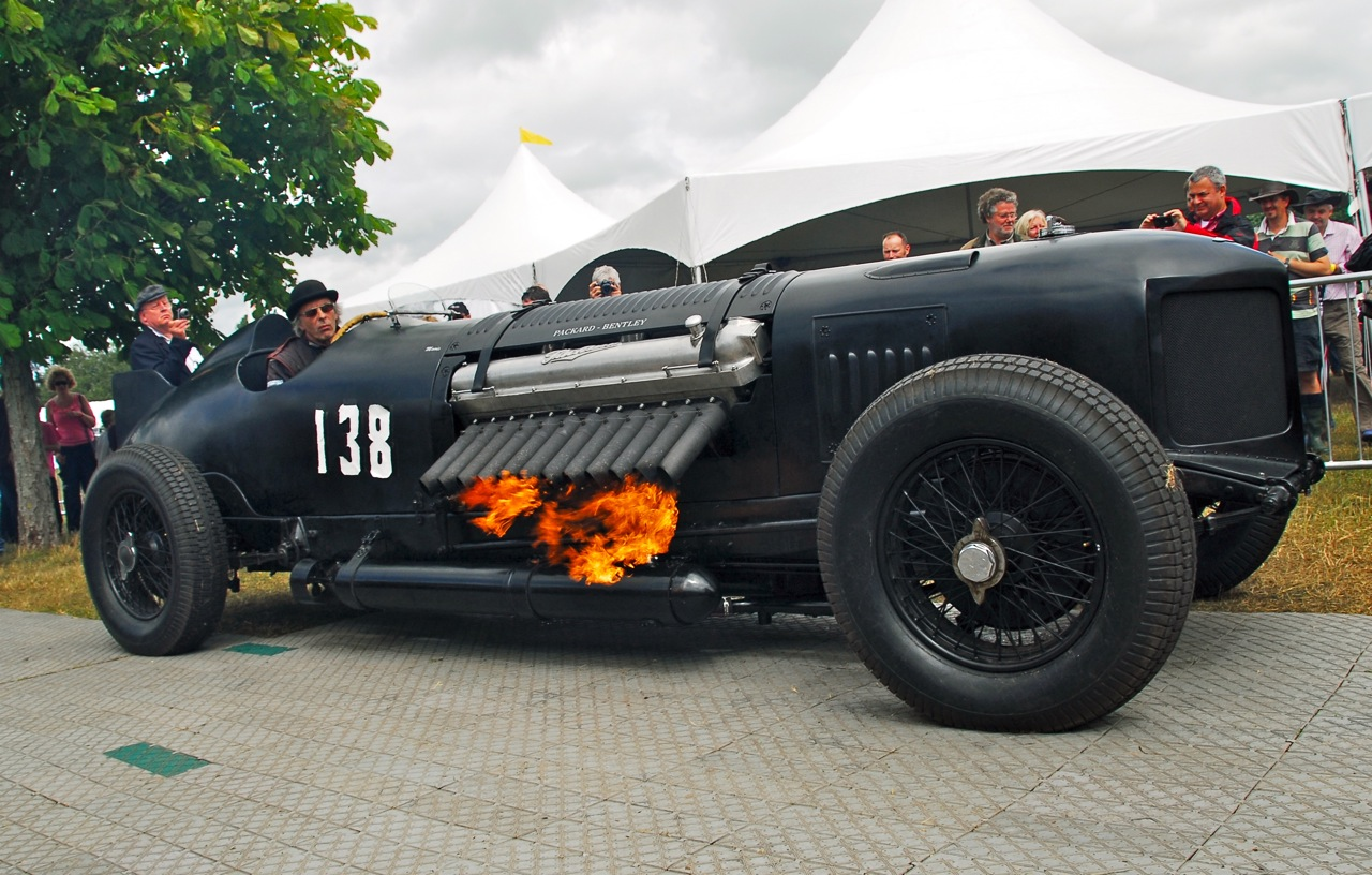 Packard Bentley Cubic Inch Flame Thrower