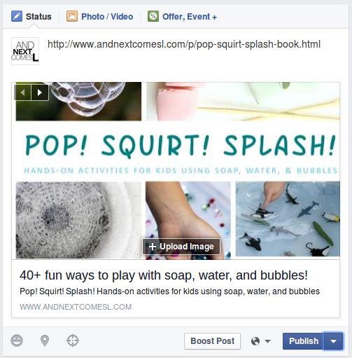 How to edit the titles of links you share on Facebook from And Next Comes L