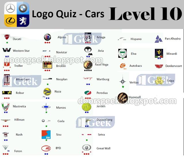 Logo Quiz 2 On Facebook Answers Automotive