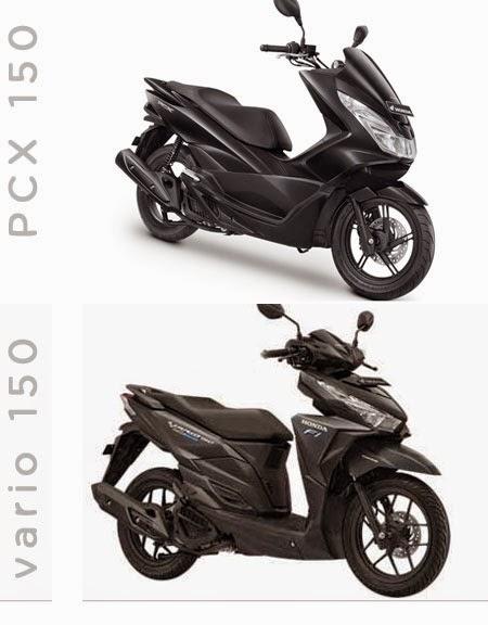 Honda Vario 150 vs PCX 150