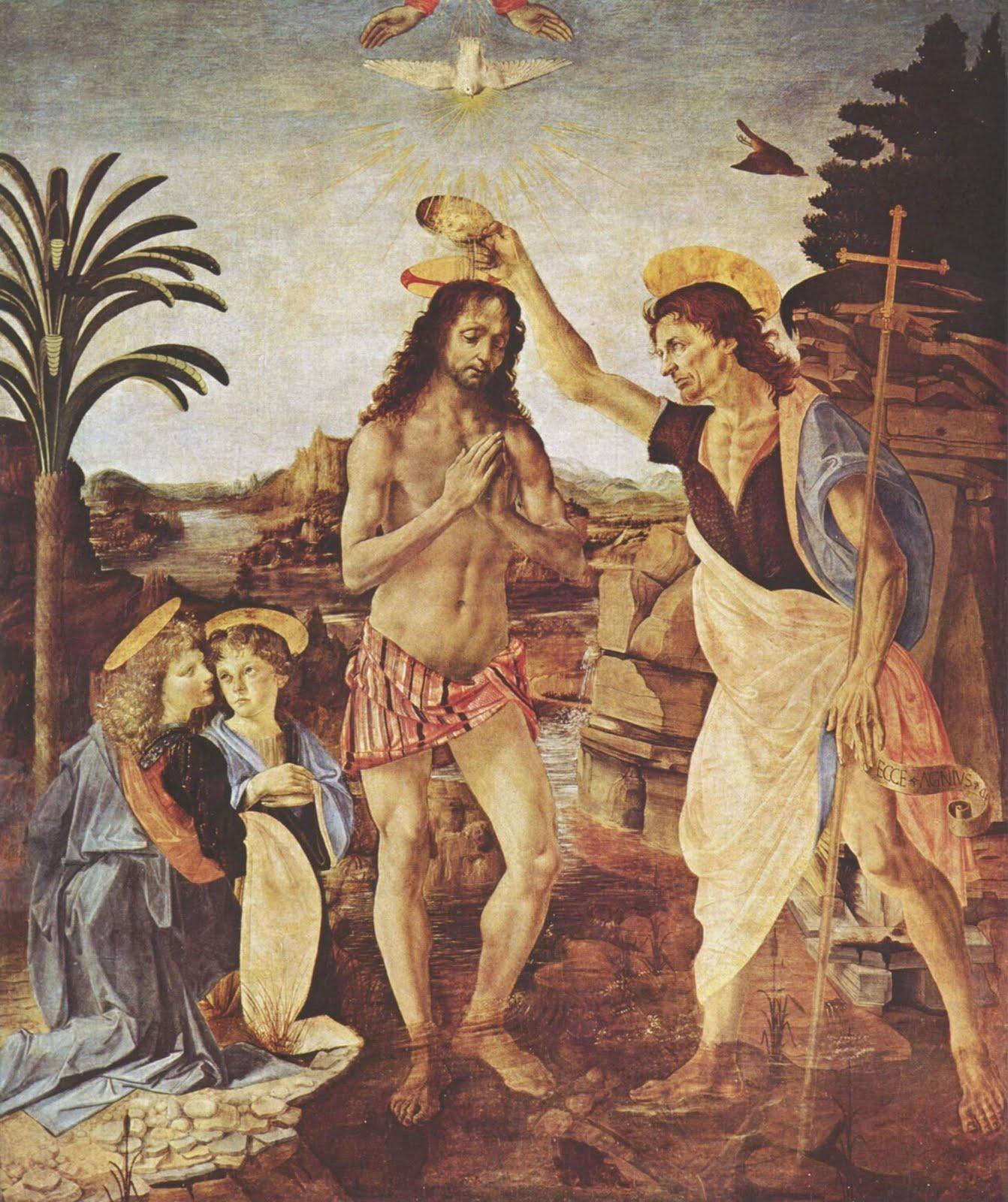La Joconde celui de La Vierge  l Enfant avec sainte Anne sugg¨re davantage une vision qu une description car il int¨gre la diffraction de la lumi¨re