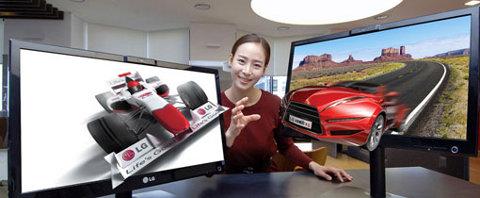 LG DX2500, nuevos monitores 3D sin vidrio