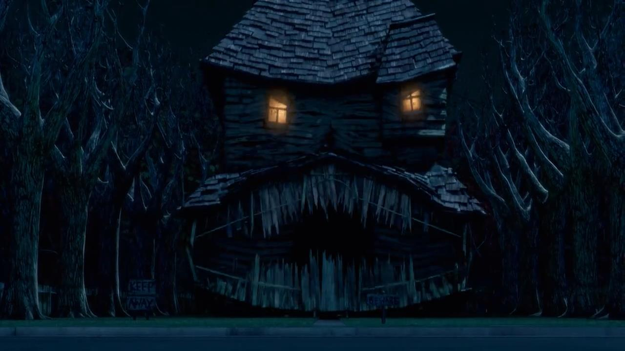 Monster house: La casa de los sustos HD latino 4sh - Identi