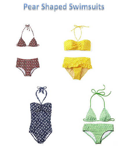 swimsuits for pear shaped bodies versace of curvy ...