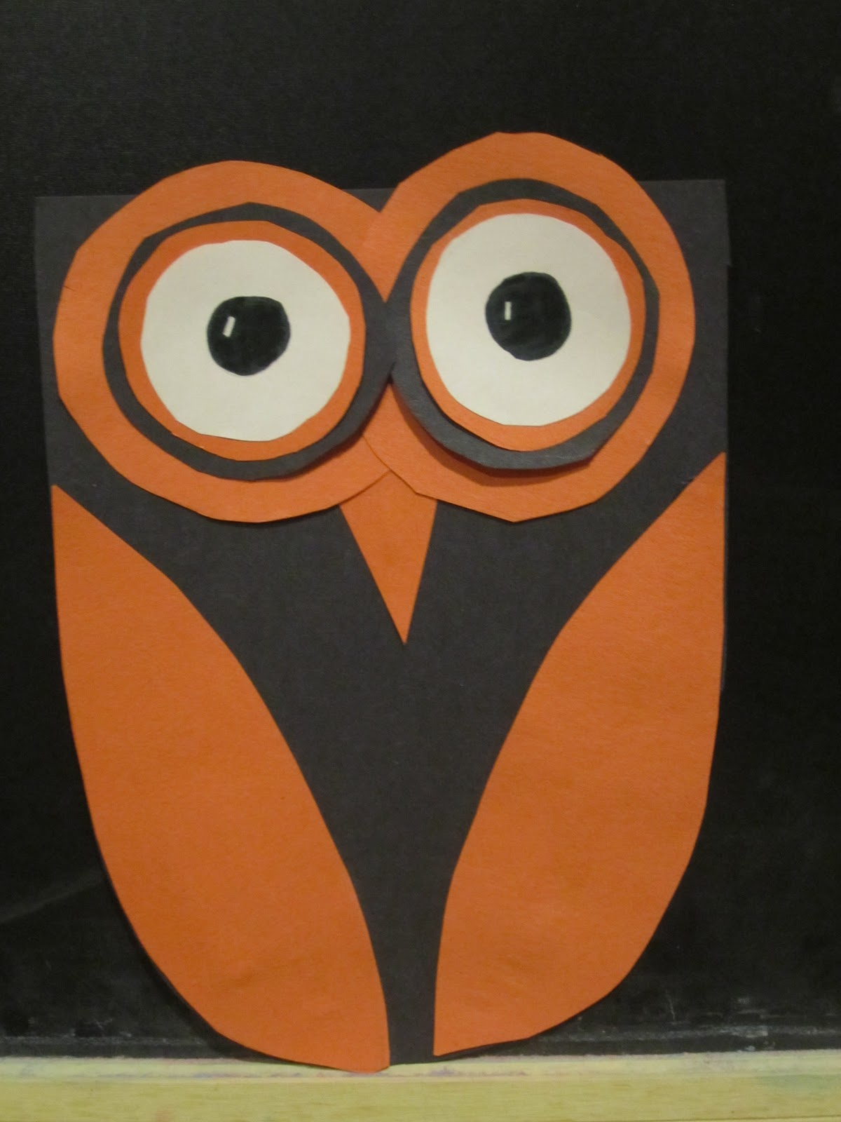 Construction Paper Crafts For Halloween Choice Image