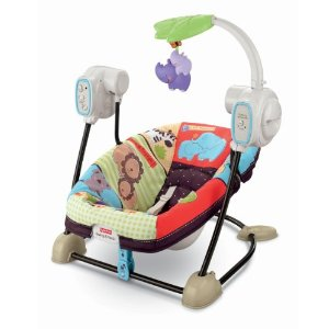 Baby Swing, Fisher Price, Luv U Zoo