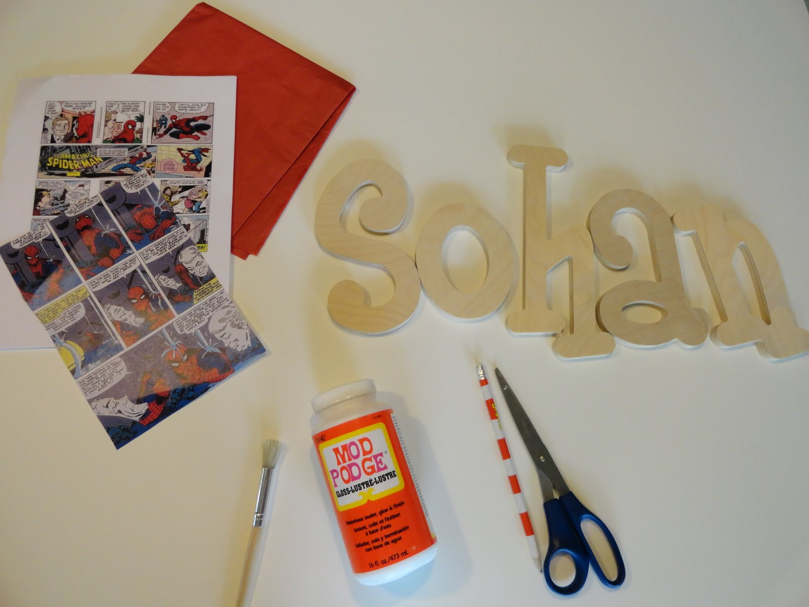 spiderman inspired party diy comic book letters party ideas