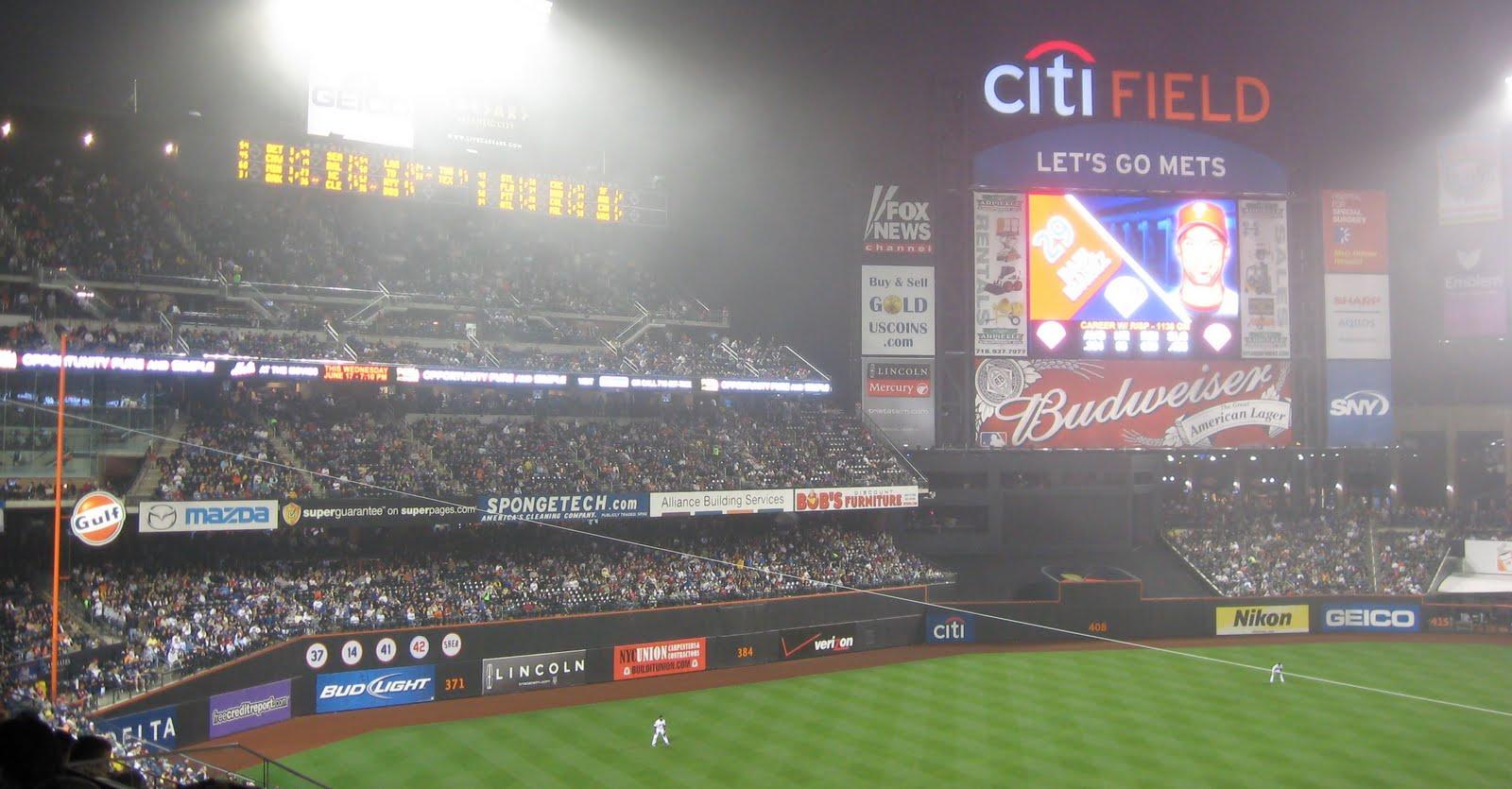 Citi field new dimensions pictures Citi Field, New York Mets ballpark - Ballparks of Baseball