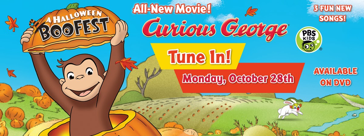 curious george a halloween boofest movie and printables