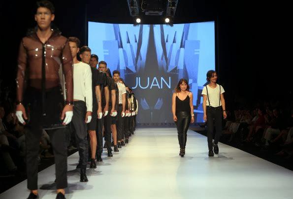 juan project, revista don juan, blanco y negro, corte laser, dorado, gold, Cali exposhow, minimalism, minimalismo, Juan, Pasarela Don Juan, CaliExposhow 2013