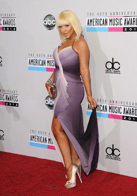 Christina Aguilera - 2012 AMAs The Voice