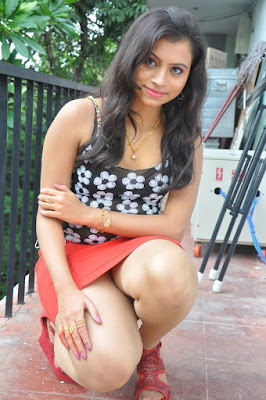 Thunder thighs of telugu actress Priya