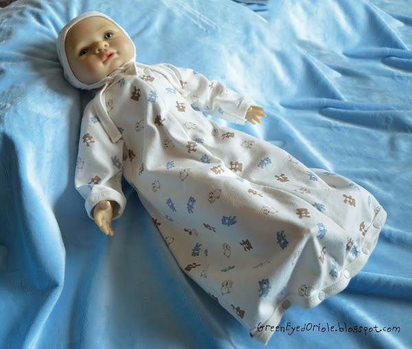 Спальник для новорожденного