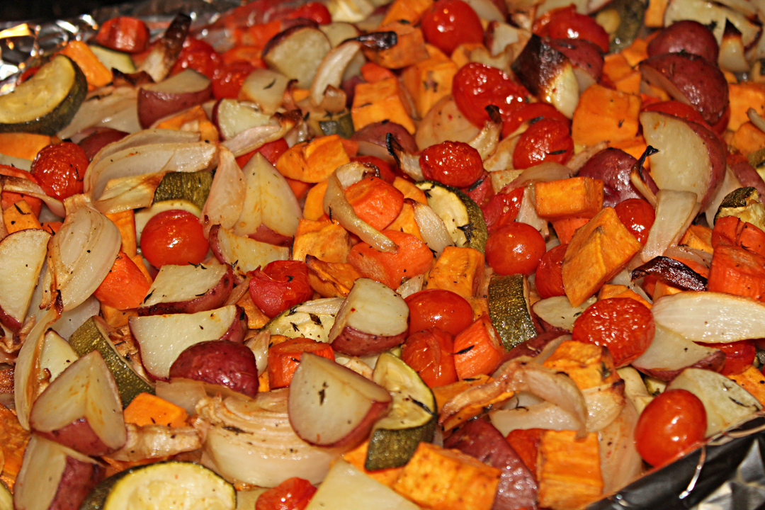 Roasted Vegetables - The Not So Desperate Chef Wife