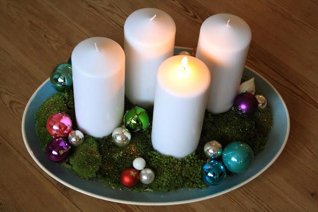 Mine adventskranse og juledekorationer fra de sidste par ̴r РThe ...