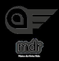Logomarca Aviões do Forró - Logomarca MDR Play. Divulgação Música da Minha Vida -  MDR Play.