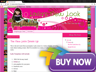 purchase latina Introducing a New Dress Up Avi & Sale Book Blogger Design