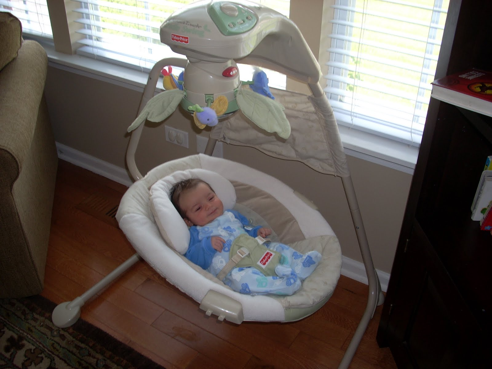 Fisher price baby papasan chair - Awesome Baby Swing Fisher Price