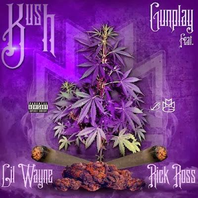 cover de kush de gunplay con lil wayne y rick ross