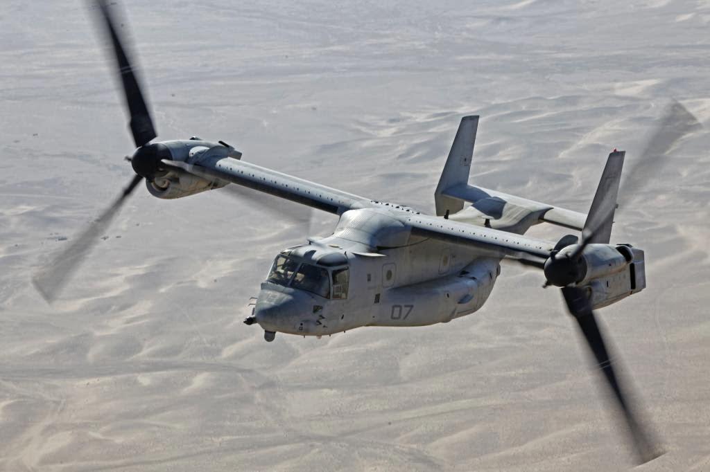 Elicottero Osprey : Mv osprey vtol tiltrotor aircraft over afghanistan
