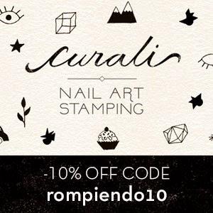 10% de descuento en Curali Nail Art Stamping