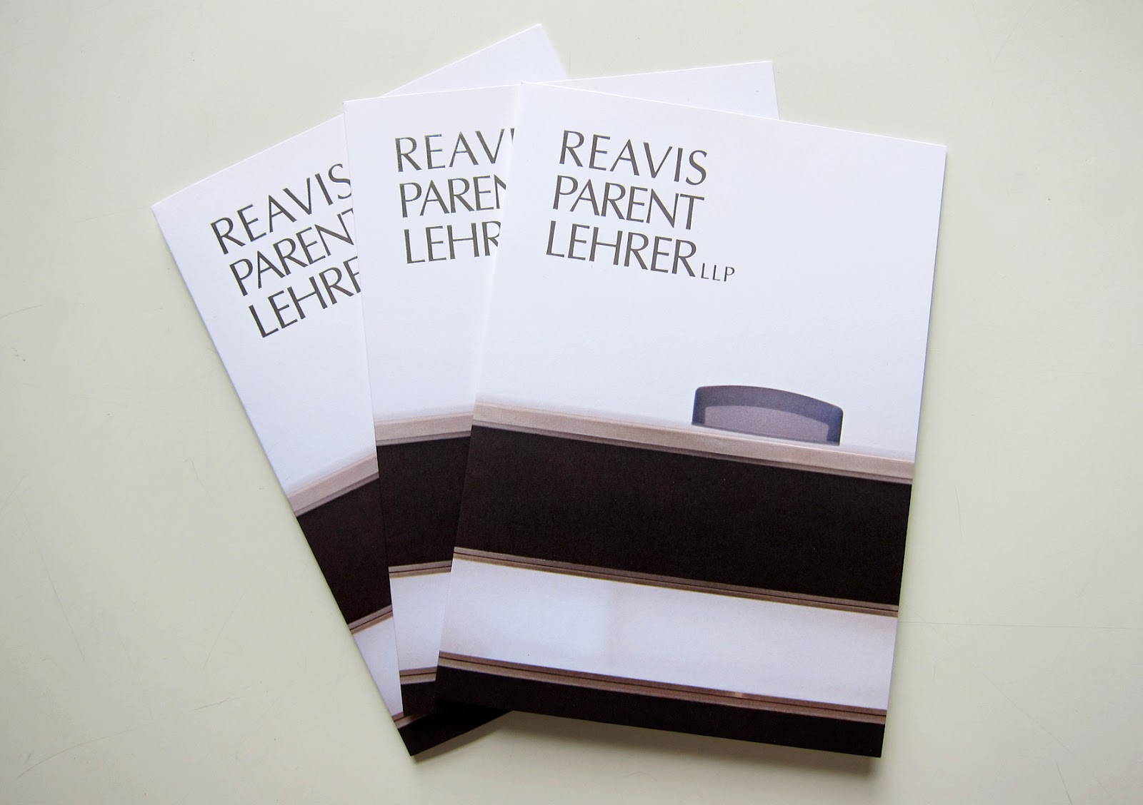 Lehrer architects office design Studio We Just Designed Additional Marketing Materials For One Of Our Longstanding Clients Reavis Parent Lehrer Llp Initiated By Mads Office Design At 41 Pinterest Matiz Architecture And Design Mad Branding For Reavis Parent Lehrer Llp
