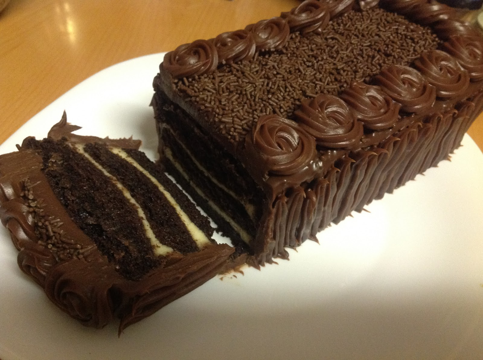 Sweet V Nill Resipi Kek Coklat Lapis Cheese Kukus Choc | New Style for ...