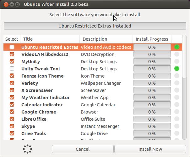 Ubuntu After Install