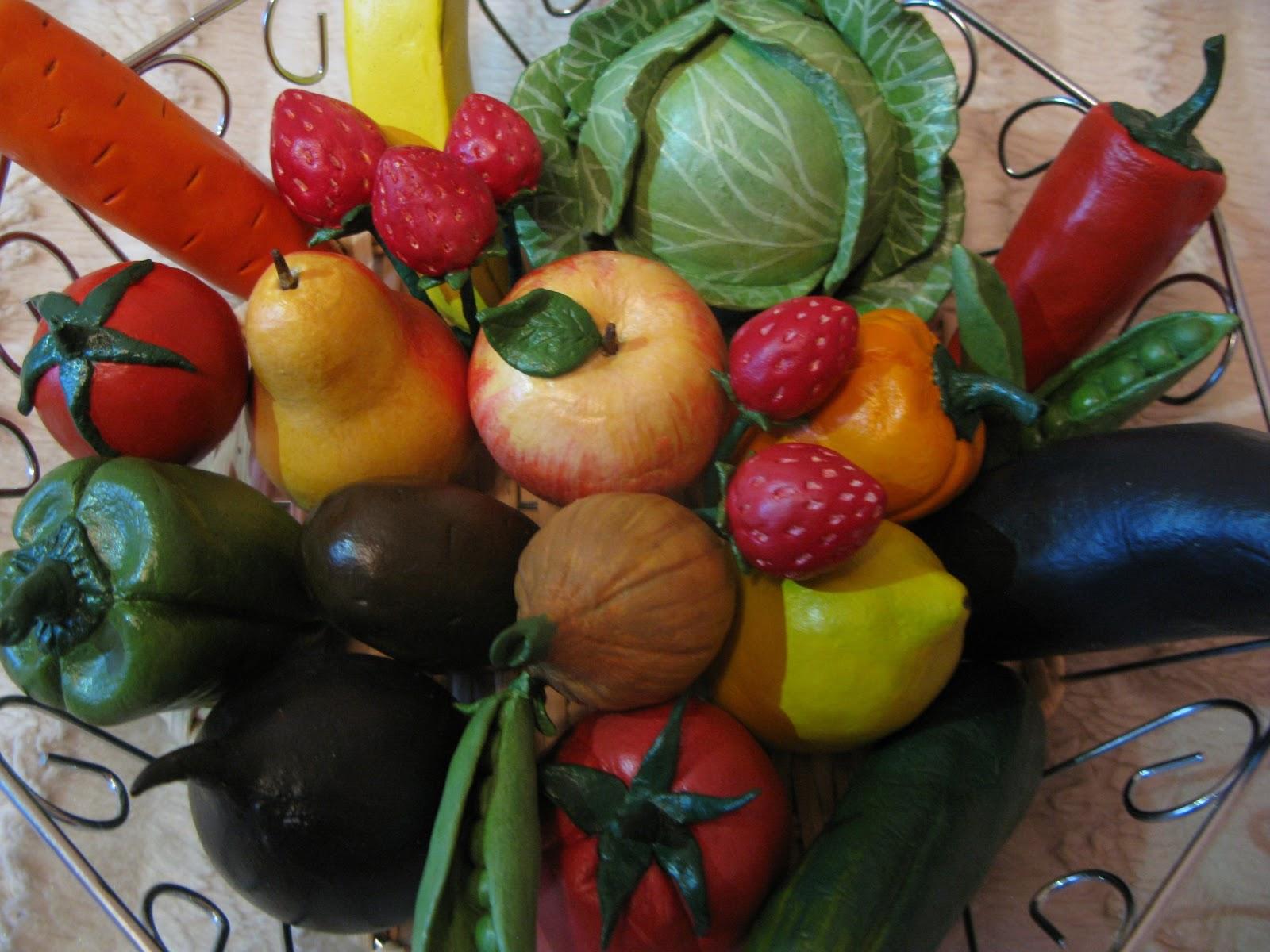 Овощей фруктов своими руками детьми 524