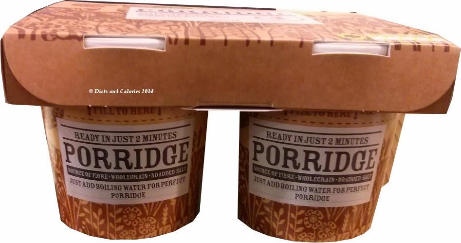 M&S Instant Porridge Pots