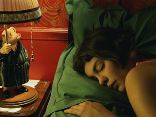 Amelie durmiendo