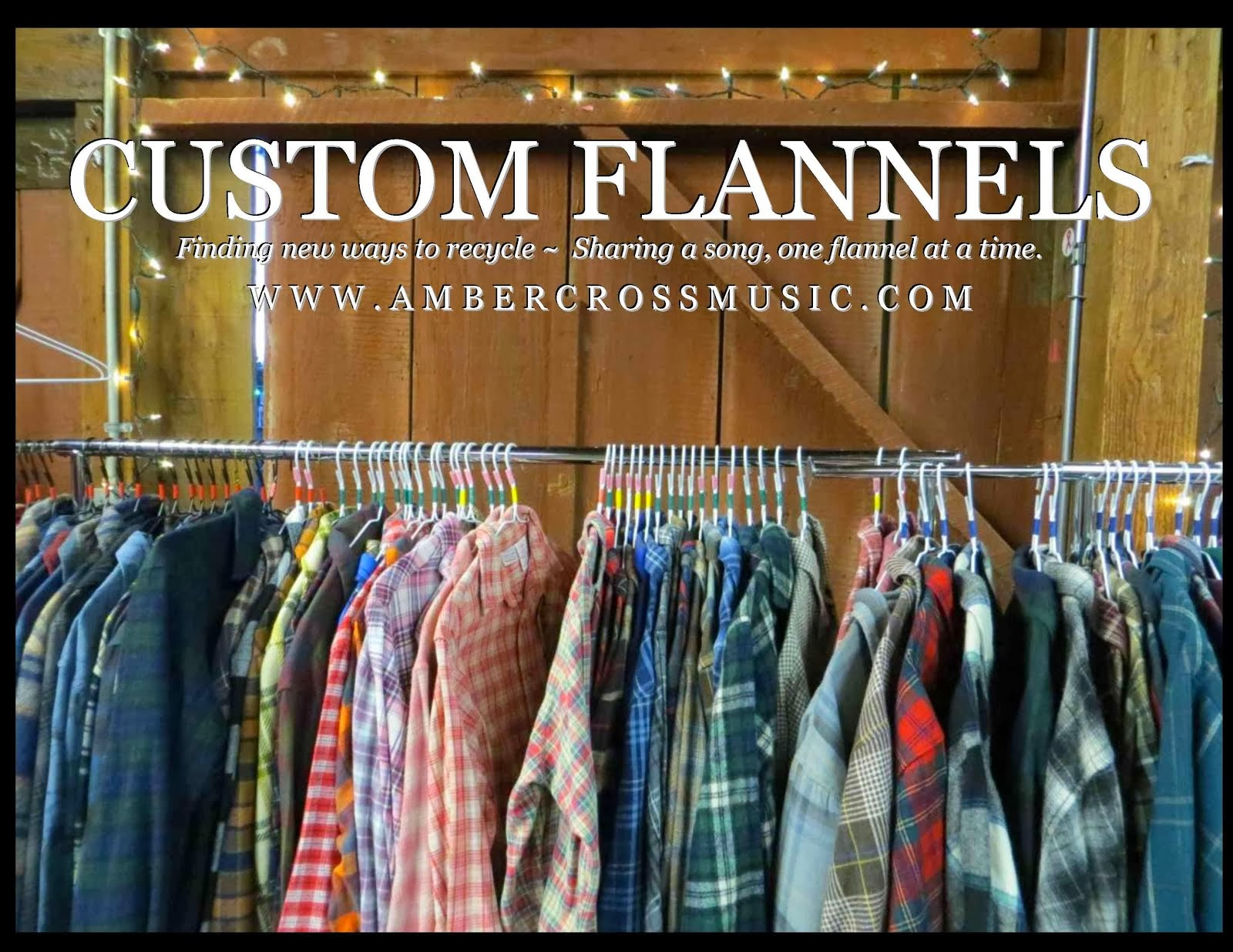 Recycled Flannel Shirts...