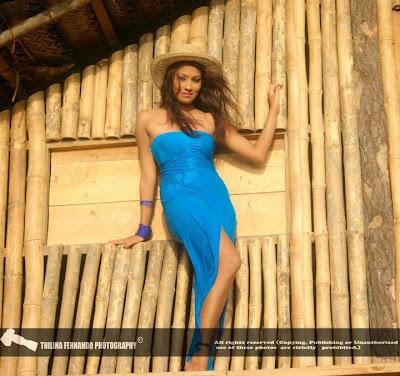 Srilankan Model Fallon Michelle Hot Bikini Photo Collection