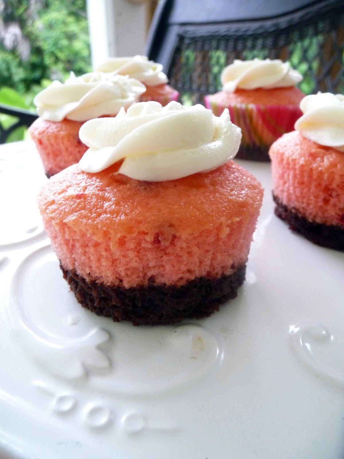 Neapolitan Cupcakes | by Life Tastes Good #Summer #Dessert