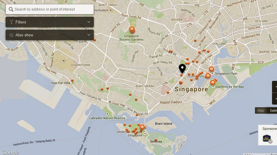 Amrita Spa & Wellness Singapore Map,Map of Amrita Spa & Wellness Singapore,Tourist Attractions in Singapore,Things to do in Singapore,Amrita Spa & Wellness Singapore accommodation destinations attractions hotels map reviews photos pictures