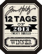 Tim Holtz 12 Tags Winner Nov 2013
