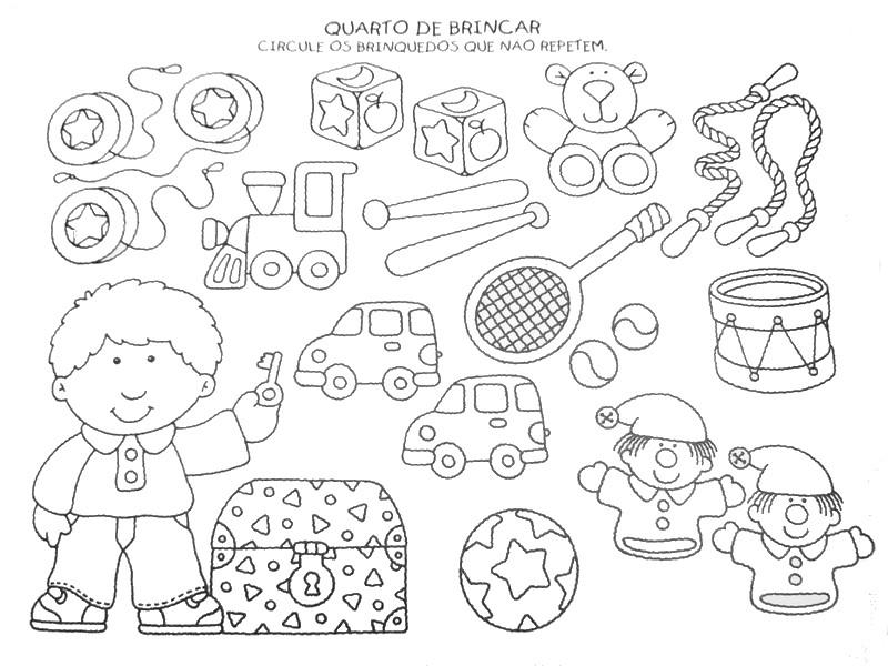 Correspondências - sequências e outras actividades 2 ALFABETIZACAO+INFANTIL+DESENHOS+E+ATIVIDADES+931