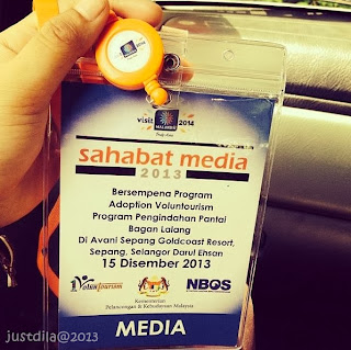 Sahabat Media Program 1 Voluntourism NBOS Di Sepang Gold Coast