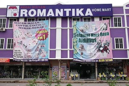 Romantika home decor galaxy ampang management