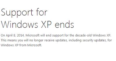 Come sostituire windows xp