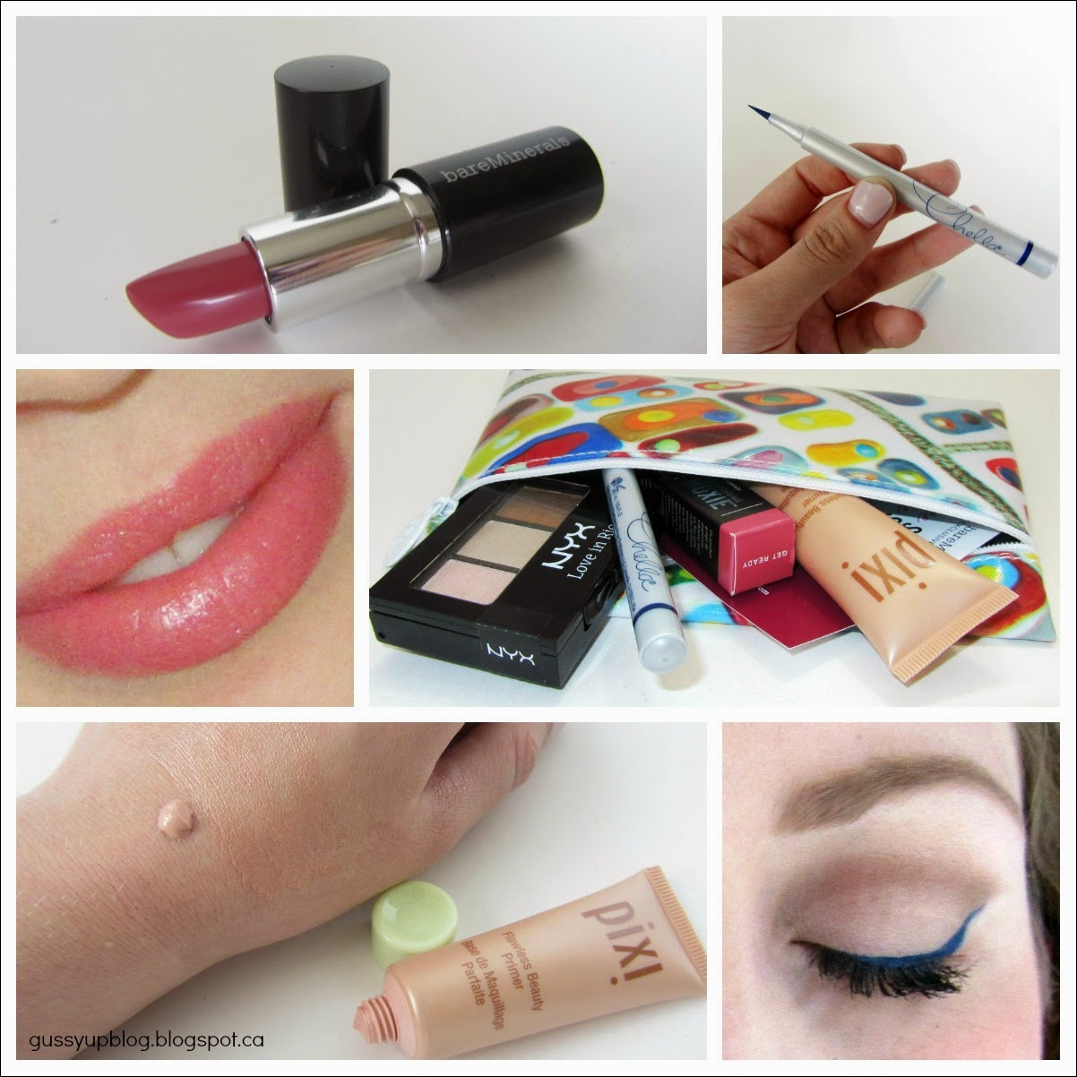 Ipsy Glam Bag, March 2014, Review and Swatches