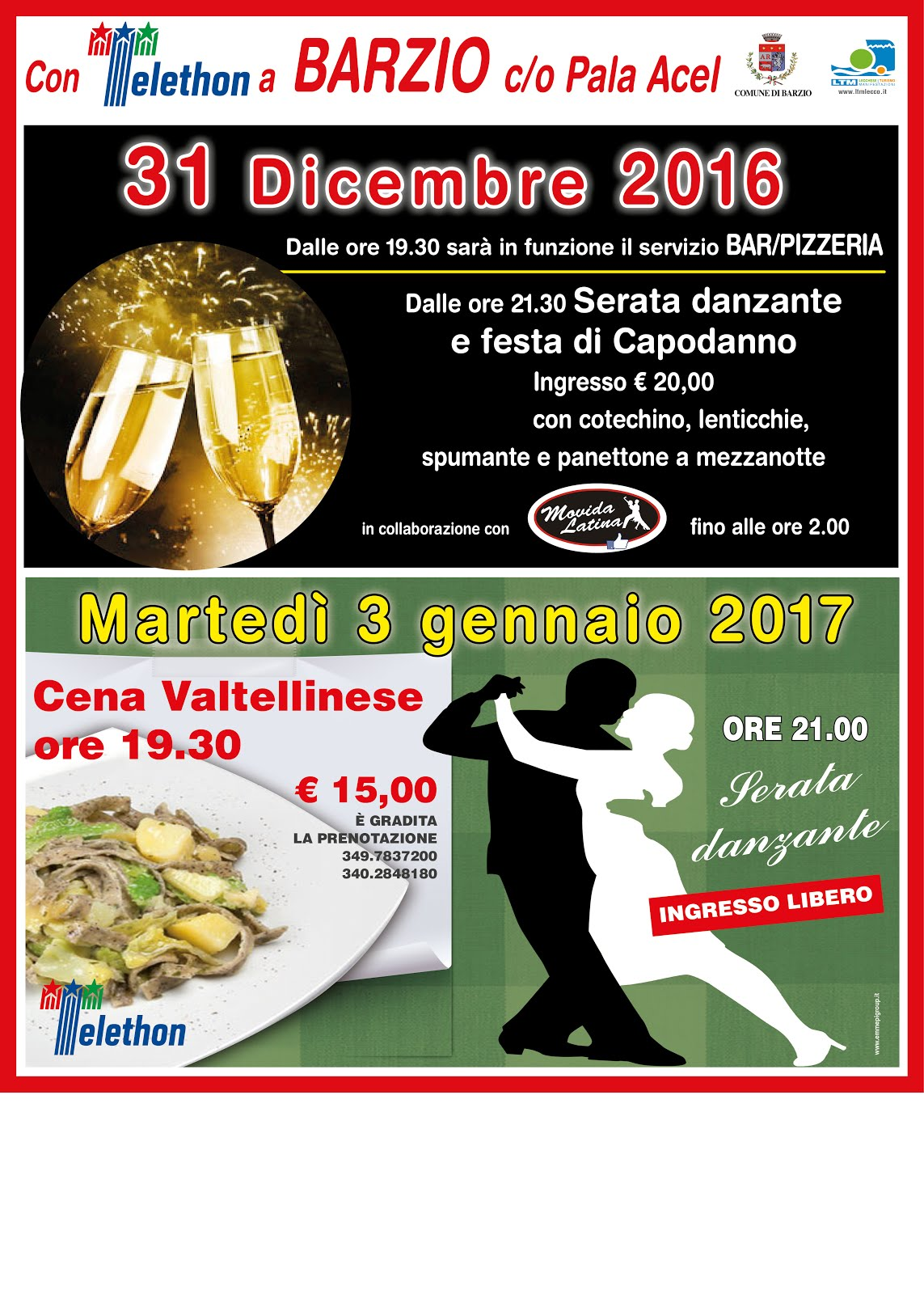 Feste in Valsassina
