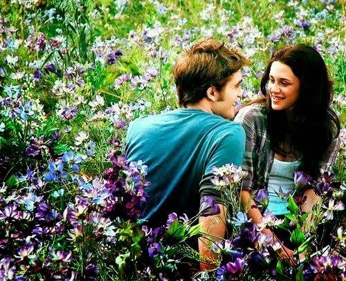 Romantic Couple in garden