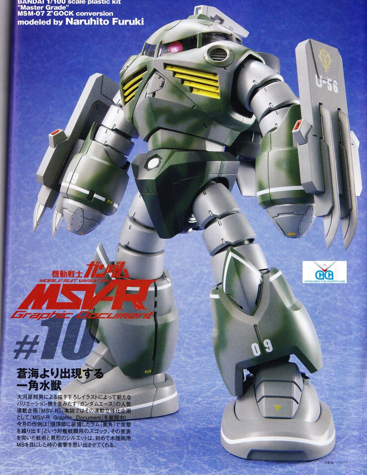 MSM-07N RAM Z'Gock (MG MSM-07 Z'Gock Conversion)