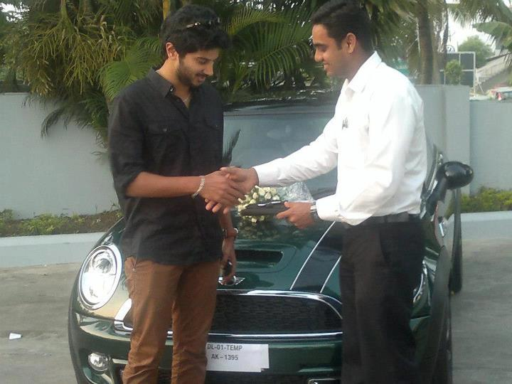 Dulquer Salman S Latest Car The Mini Cooper Celebrity