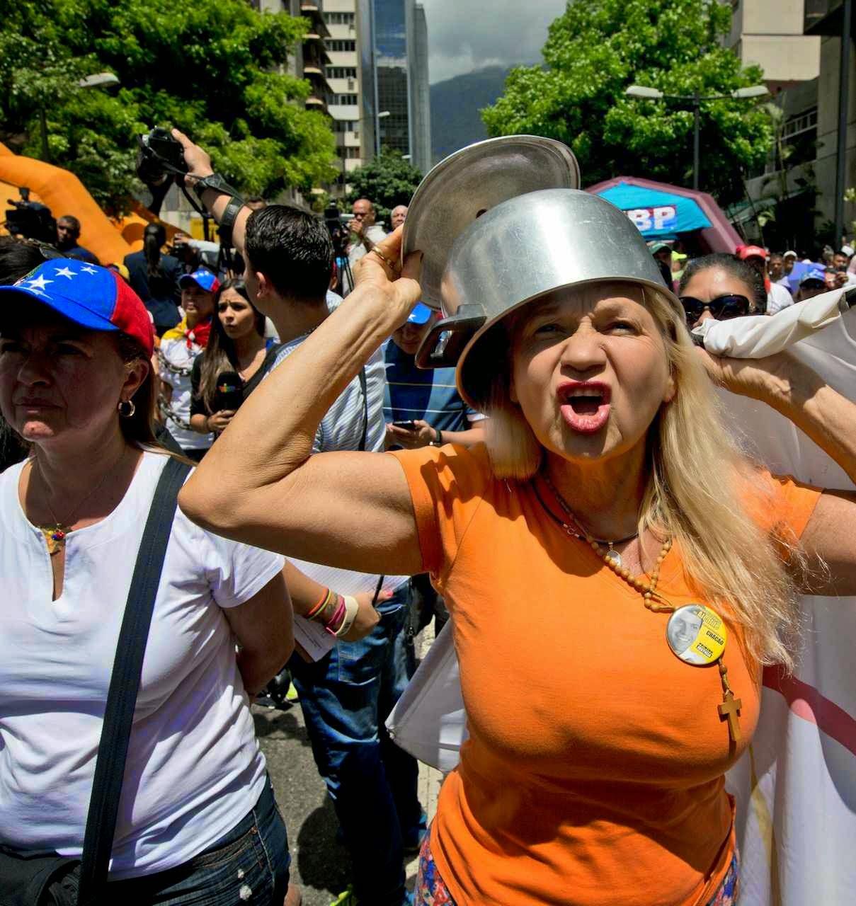 Desespero da população na Venezuela