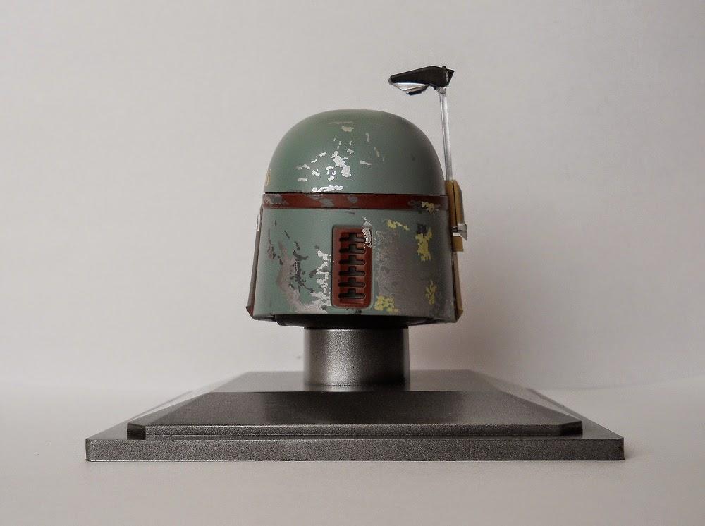 maqueta del casco de boba fett