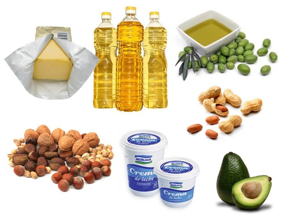 grasas vegetales: